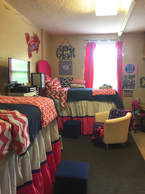 Ole miss dorm room stewart hall anchors and pearls Dorm room setups