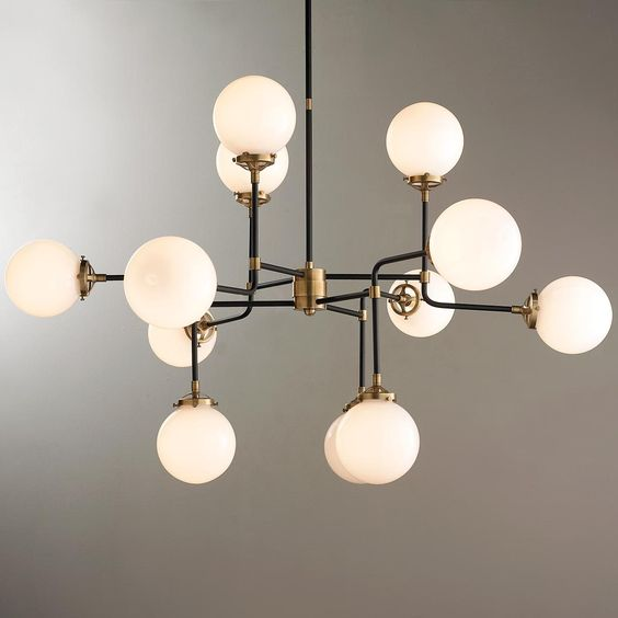 mid century parlor chandelier this chandelier is incredibly stylish