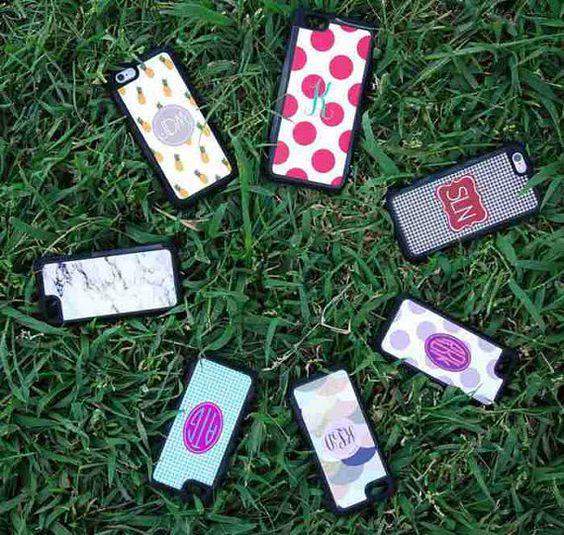 iphone 6s plus cover iphone 6 plus case monogram by CBreezeDesign