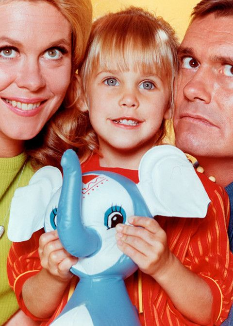 "Erin Murphy is best known for playing little Tabitha Stephens on the '60s supernatural TV series, ""Bewitched."":"