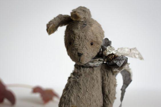 Fait sur commande Larion Bunny lapin farci poche par annapavlovna