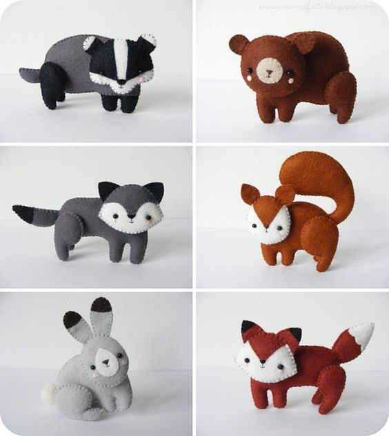 Woodland Creatures Squirrel And Wolves On Pinterest