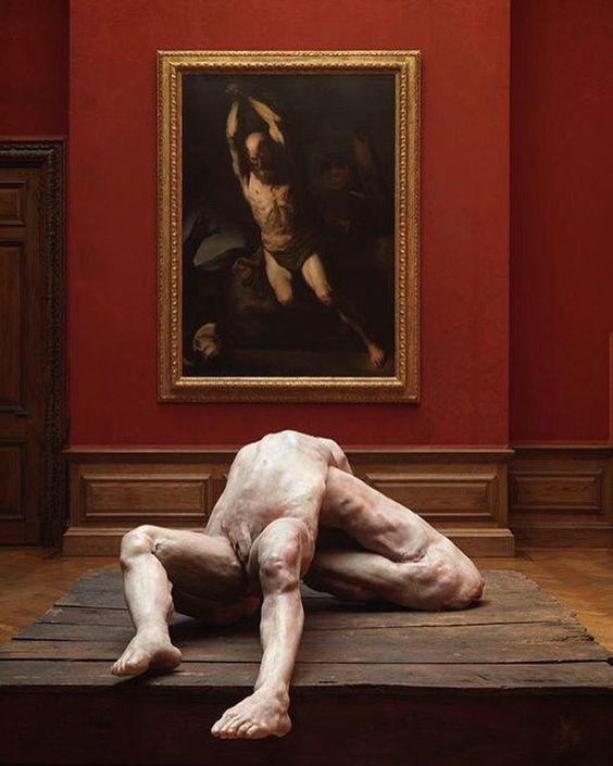 #berlindedebruyckere  #art #artist #contemporaryart #contemporary #installation #sculpture #francisbacon #blood #flesh #meat #painting #red #redvelvet #creepy #disturbing #scary