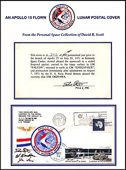 Apollo 15 postage stamp incident