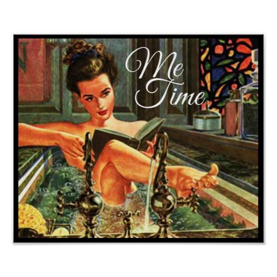 Vintage Pinup Girl In Bath Poster Zazzle Com Vintage Art Prints Beauty Posters Vintage Pinup