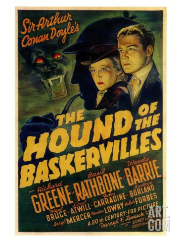 The Hound of The Baskervilles, 1939 Giclee Print at Art.com