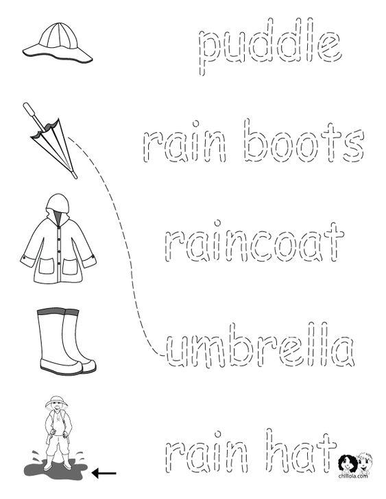 English Worksheets for Kids ~ Spring Printout English ~ English ...