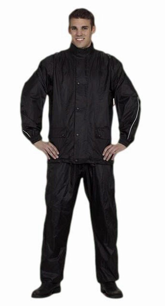 NEW Rain Gear Motorcycle Jacket and Pants Set 2 Piece Suits For Men