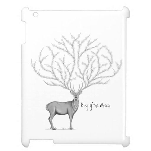 Cute Ipad Mini Case Flower Deer / Ciervo con Flores