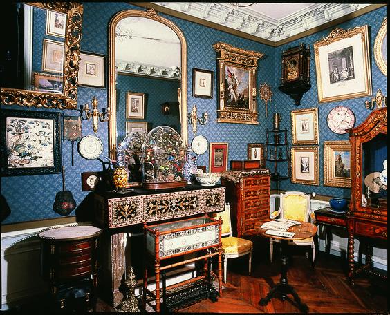 Boudoir à la mémoire d'Alexandrine Dureux, Paris, musée Gustave Moreau: