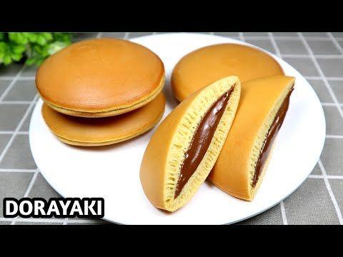 وصفة دوراياكي فطيرة يابانية Dorayaki Wasfat Dawrayaki Fatirat Yabaniat Dorayaki Youtube Resep Makanan Makanan Kue Dadar