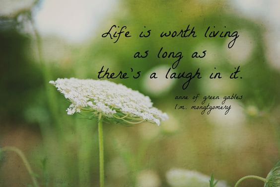 Anne Of Green Gables Quotes | Life Is Worth Living Anne of Green Gables quote Art Print