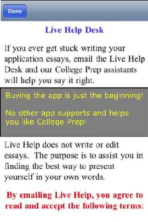 essay high school vs university