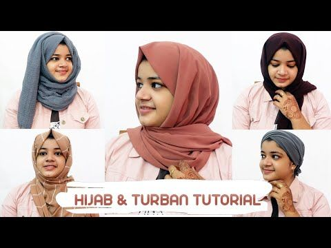 Hijab Tutorial Turban Tutorial Most Requested Video Marseena Nadeer Malayalam Vlog 36 Youtube Turban Tutorial Hijab Tutorial Hijab