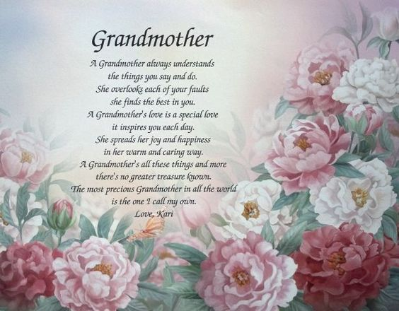 Valentines Day Quotes For Grandma: Grandma Poems From Kids - Google Search