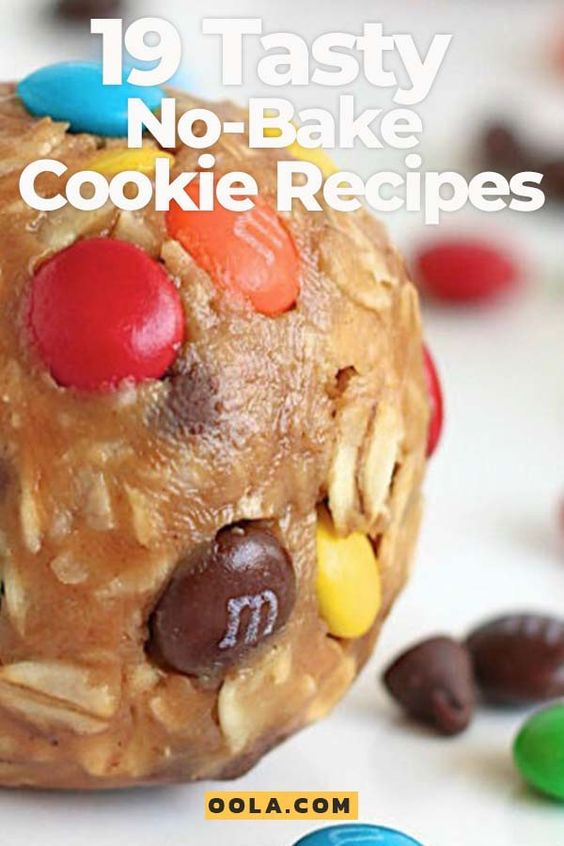19 Tasty No-Bake Cookie Recipes