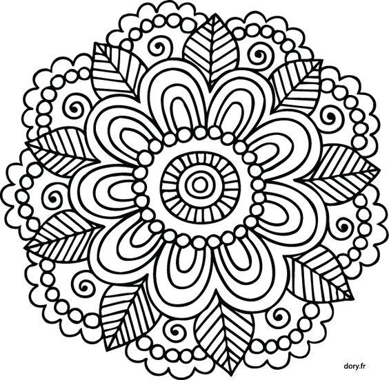 Mandala imprimer recherche google pinteres - Madala a imprimer ...