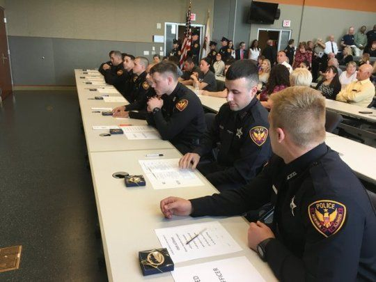 Aurora Il Police Officers In Training It Paid Off Police Officer Police La Trip