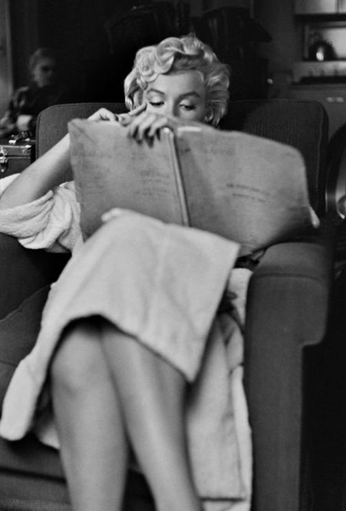 Marilyn on the set of The Seven Year Itch