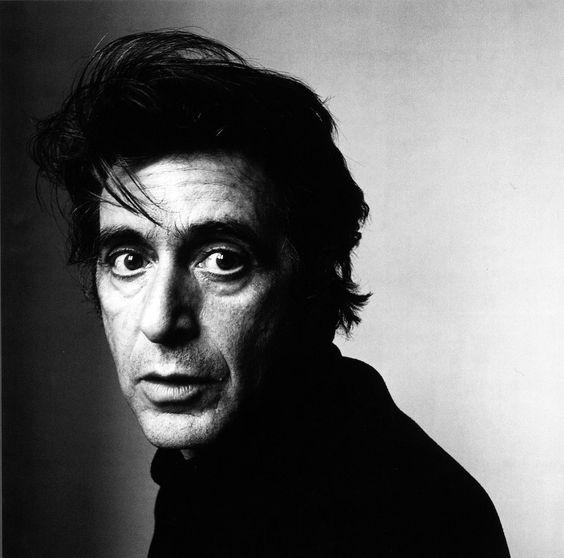Al Pacino by Irving Penn.