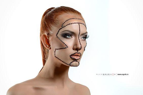 творческая работа #makeup #mua #creative