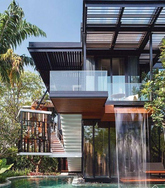 Blocos 3d Gratis Para Arquitetos E Decoradores House Designs Exterior House Balcony Design Modern Architecture