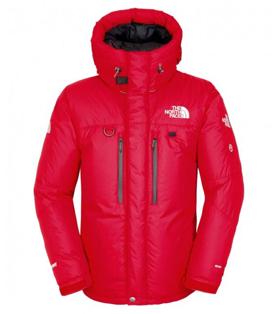 The North Face Herren Himalayan Parka TNF Red/TNF Black