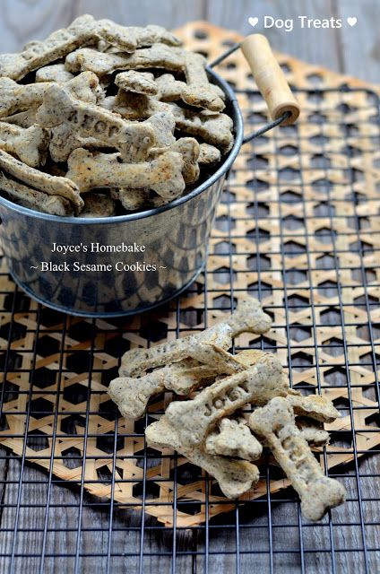 Joyce's Home Bake: Black Sesame Cookies 黑芝麻餅乾