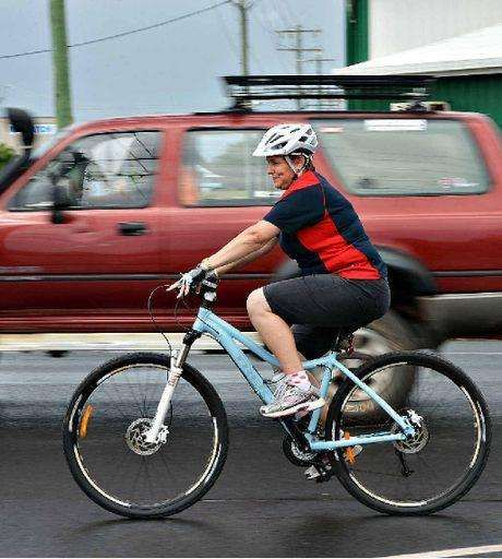 Bicyclists Who Ride in Dangerous Places