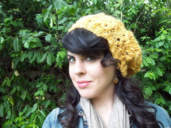 Ravelry: Super Slouch Beret pattern by Sarah Wilson