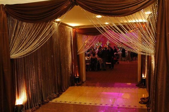 Idea banquet hall custom entrance for a wedding the for The terrace hall