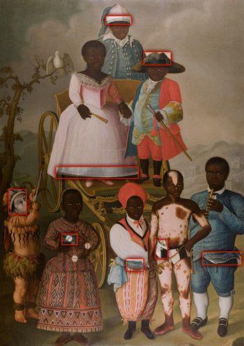 Alienor.org, conseil des musées. Un regard, une œuvre/ La mascarade nuptiale: Le sujet