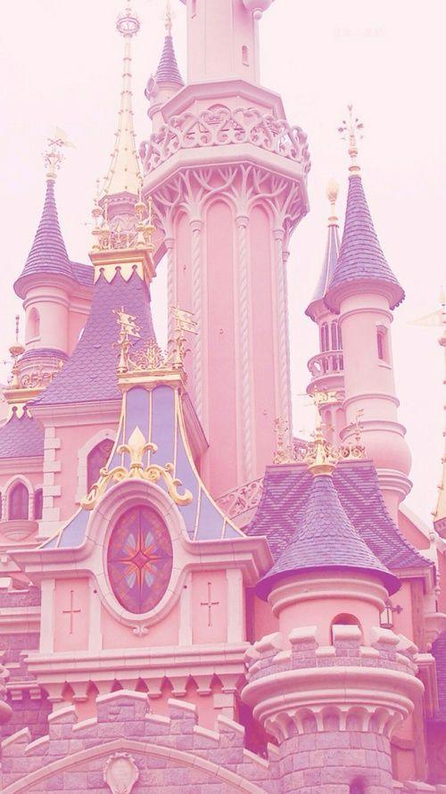 Pink Castle Estetica Rosa Pastel Estetica Pastel Papel De Parede Cor De Rosa