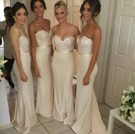 These bridesmaid dresses are SO beautiful!!! My favourite that I ...