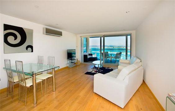 Marina View Open Plan Sitting Room