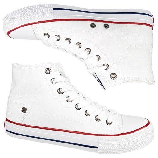 Trampki Big Star Damskie Biale Dd274332 Wysokie 38 Converse Chuck Taylor High Top Sneaker Chucks Converse High Top Sneakers