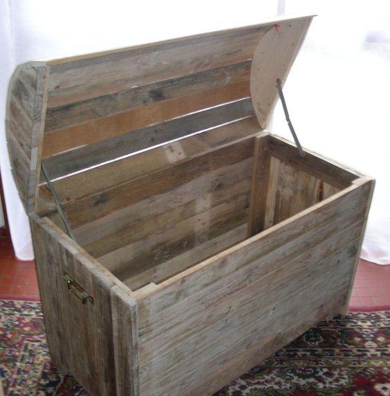 Coffre En Bois De Palette : malle coffre en bois de palette plus coffre malle de la palette