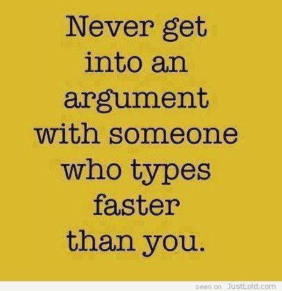 argument. Just LoL'd - Your Everyday Laughs! - Part 375