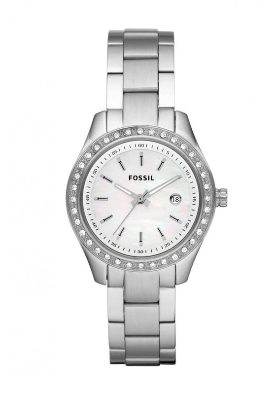 Fossil ES2998 Stella Mini Crystal Womens Stainless Watch
