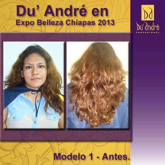 Modelo 1- Antes.  Si deseas tips en estilismo y peluquería da click en la imagen o búscanos en: https://www.facebook.com/duandreprofesional