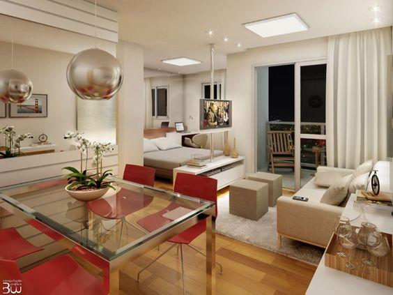Sugestão de decoração loft