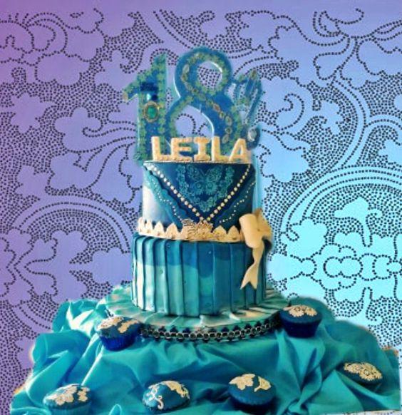 Debutant's Cake