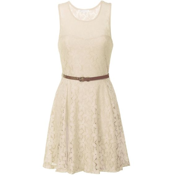 Alice & You - Cream Lace Skater Dress ($13) ❤ liked on Polyvore featuring dresses, cream, sweetheart dresses, pink lace cocktail dress, pink skater dress, sweetheart skater dress and pink dress