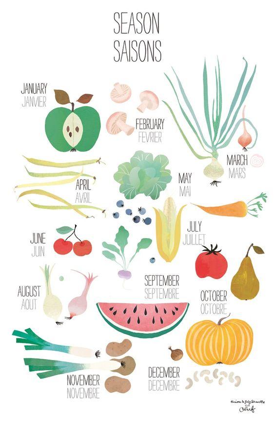 legumes seasons and fruit on pinterest. Black Bedroom Furniture Sets. Home Design Ideas