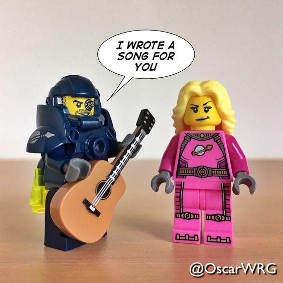 #LEGO_Galaxy_Patrol #LEGO #Guitar @lego_group @lego @bricksetofficial @bricknetwork @brickcentral