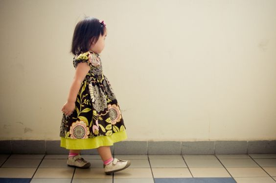 Maia Dress 12M-8T PDF pattern and Instructions