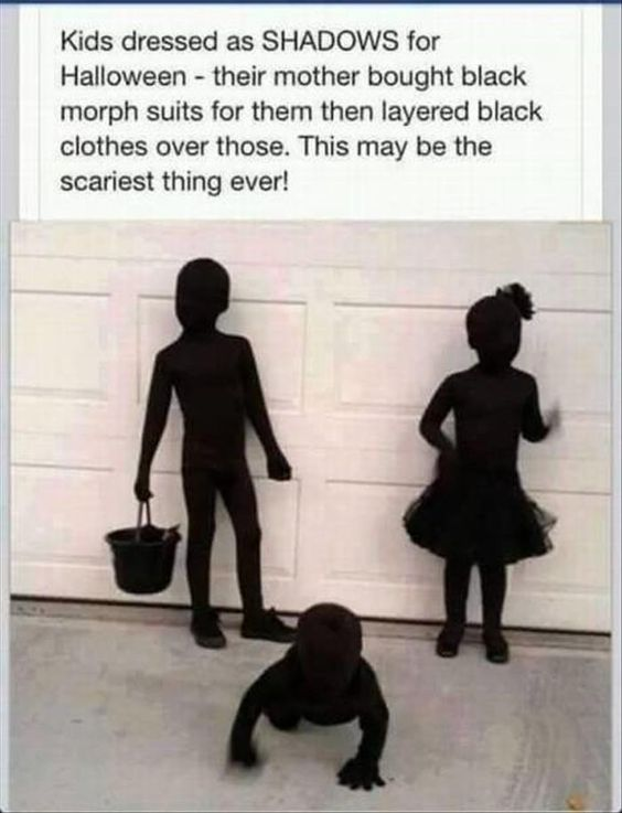 Awesome but...how did they avoid getting run over when trick or treating at night