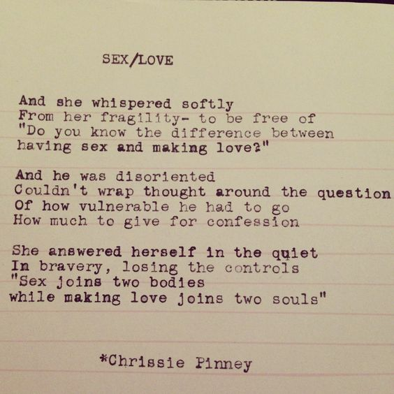 Poems For Sex 12