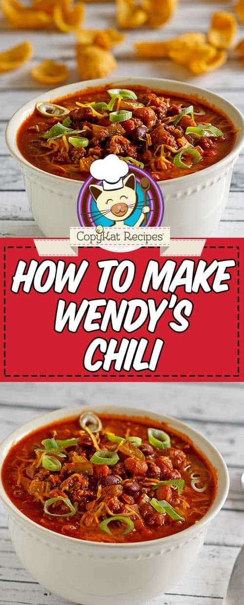 Wendy S Chili Recipe Recipe Wendys Chili Wendys Chili Recipe Chili Recipes