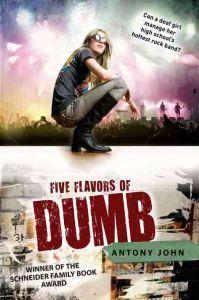 http://www.adlibris.com/se/organisationer/product.aspx?isbn=0142419435 | Titel: Five Flavors of Dumb - Författare: Antony John - ISBN: 0142419435 - Pris: 81 kr